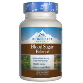 Image of Blood Sugar Balance Herbal Formula, 120 caps, Ridgecrest Herbals