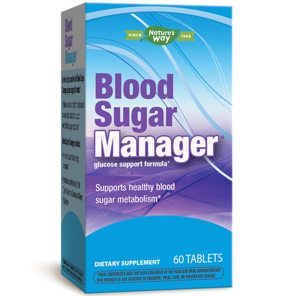 Blood Sugar Manager, 60 Tablets, Enzymatic Therapy