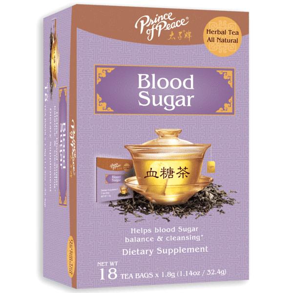Blood Sugar Tea, 18 Bags, Prince of Peace