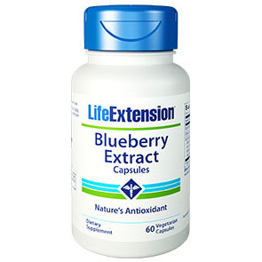 Blueberry Extract, 60 Vegetarian Capsules, Life Extension
