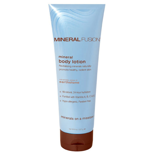 Image of Mineral Body Lotion, Earthstone, 8 oz, Mineral Fusion Cosmetics