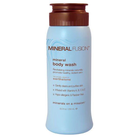 Mineral Body Wash, Earthstone, 8.5 oz, Mineral Fusion Cosmetics
