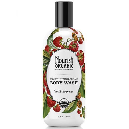 Organic Body Wash, Wild Berries, 10 oz , Nourish