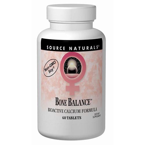 Bone Balance (Bioactive Calcium Formula) 60 tabs from Source Naturals