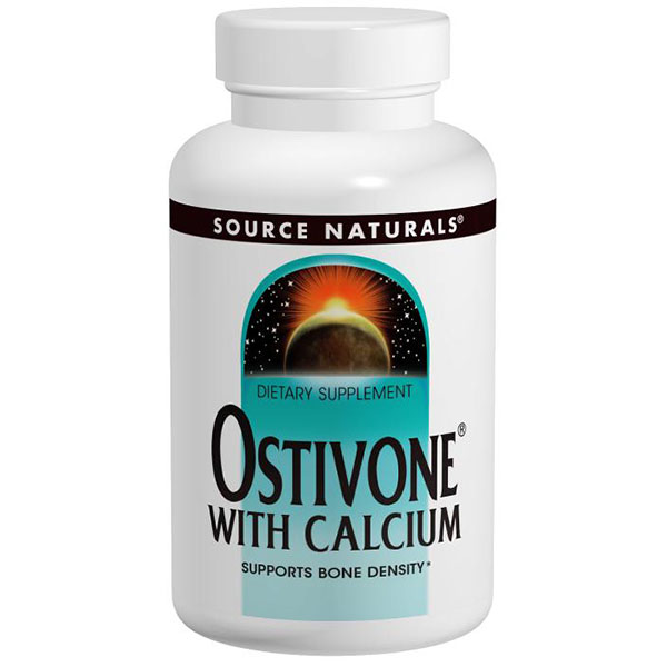 Bone Renew Calcium with Ostivone 120 tabs from Source Naturals