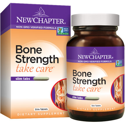 Bone Strength Take Care Slim Tabs, Vegetarian Calcium Complex, 90 Tablets, New Chapter
