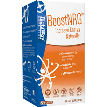 Boost NRG, All Natural Energy Booster, 90 Capsules, Rightway Nutrition