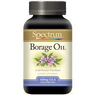 Borage Oil, 1000 mg, 60 Softgels, Spectrum Essentials