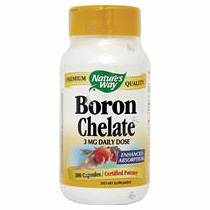 Boron 3 mg 100 tabs from Natures Way