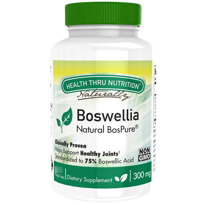 Boswellia 300 mg, 60 VegeCaps, Health Thru Nutrition