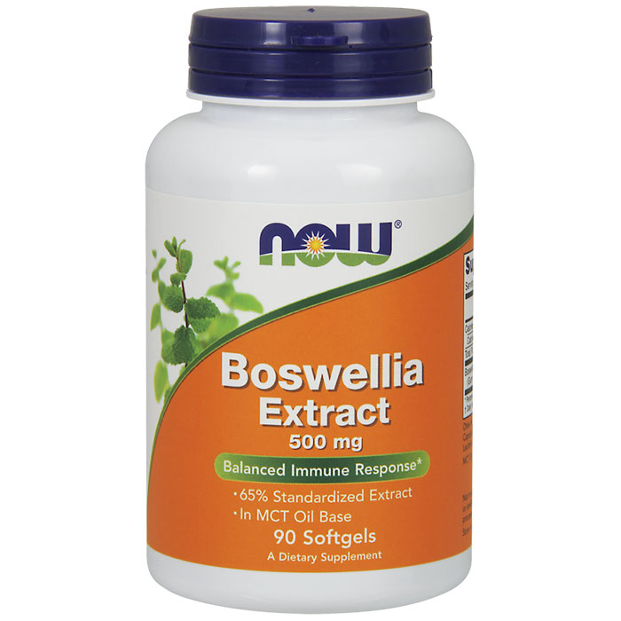 Boswellia Extract 500 mg, 90 Softgels, NOW Foods