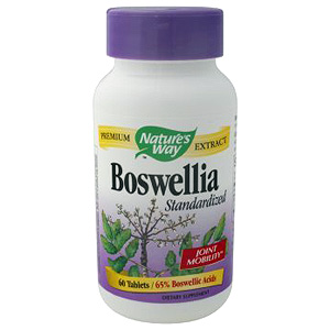 Boswellia Extract Standardized 60 tabs from Natures Way