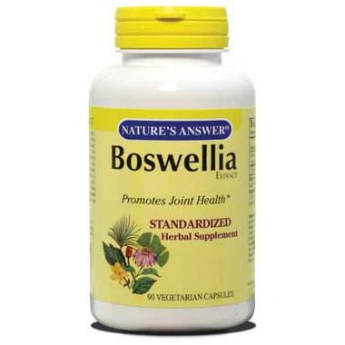 Boswellia Extract Standardized, 90 Veggie Caps, Natures Answer