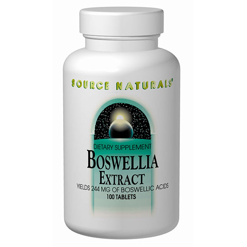 Boswellia Extract 375 mg 100 tabs from Source Naturals