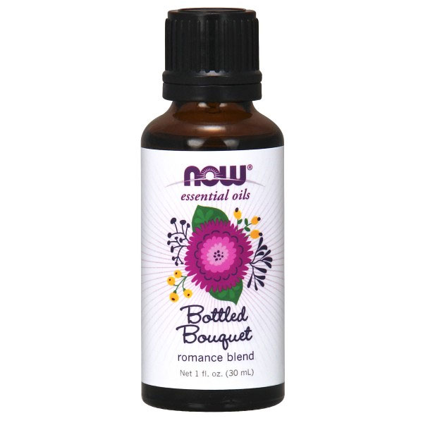 Bottled Bouquet Essential Oil Romance Blend, 1 oz, NOW Foods