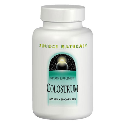 Colostrum Powder (Bovine Colostrum) 4 oz from Source Naturals