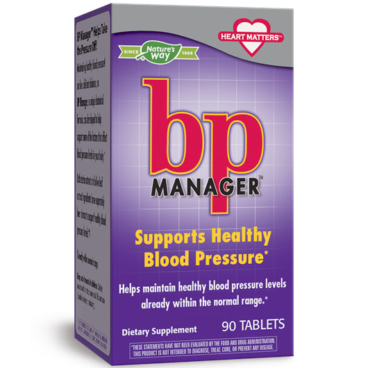 BP Manager, 90 Tablets, Enzymatic Therapy