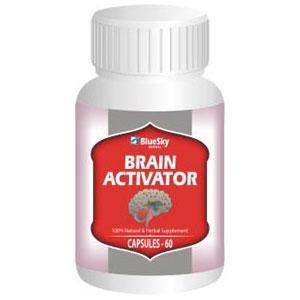 Brain Activator, 60 Capsules, BlueSky Herbal