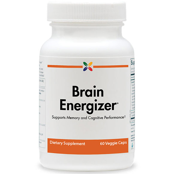 Brain Energizer, Supports Memory & Cognitive Performance, 60 Veggie Caps, Stop Aging Now