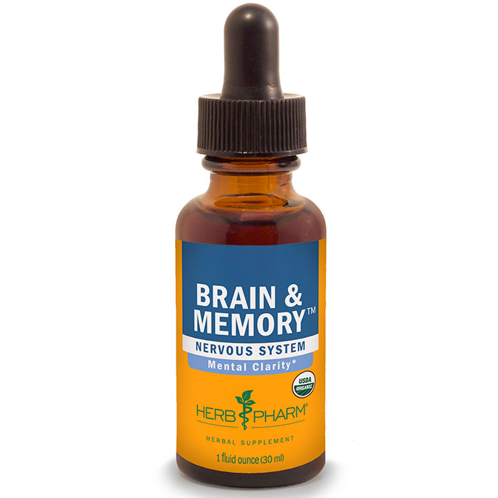 Brain & Memory Tonic 1 oz from Herb Pharm