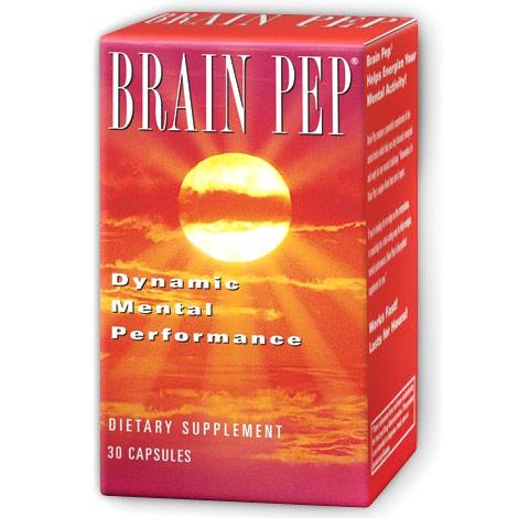 Brain Pep, 30 Capsules, Natural Balance