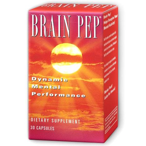 Brain Pep, 60 Capsules, Natural Balance
