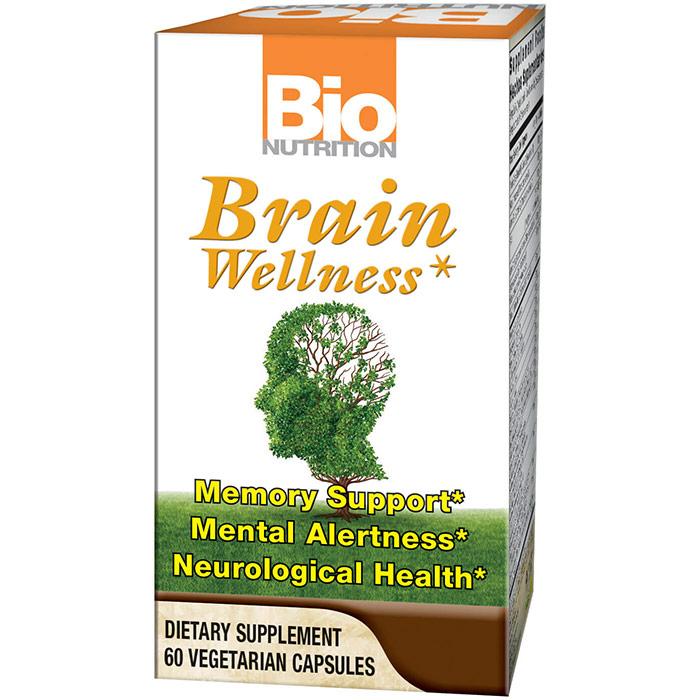 Brain Wellness, 60 Vegetarian Capsules, Bio Nutrition Inc.