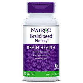 BrainSpeed Memory ( Brain Speed Memory ) 60 tabs from Natrol