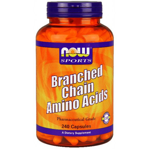 Branched Chain Amino Acids (BCAA), 240 Capsules, NOW Foods