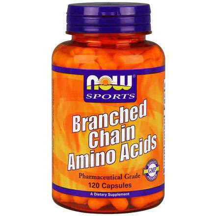 Branched Chain Amino Acids BCAA, 120 Capsules, NOW Foods