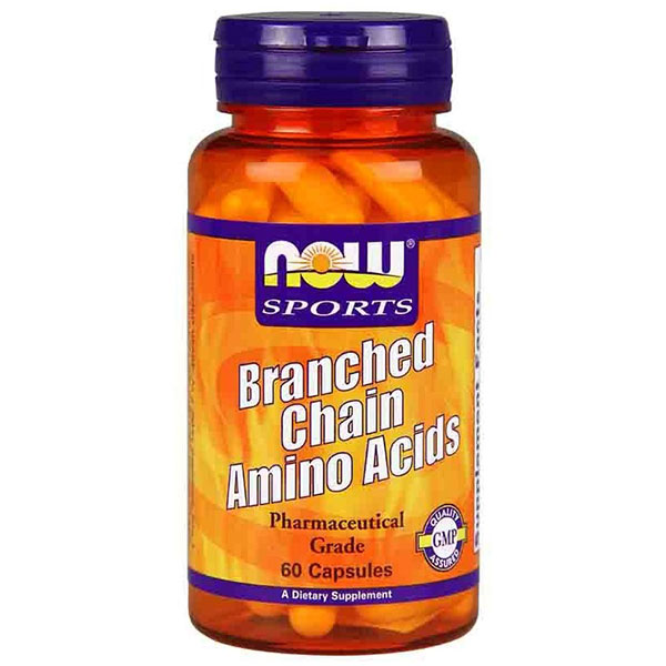 Branched Chain Amino Acids, BCAA 60 Capsules, NOW Foods