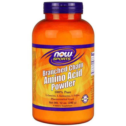 Branched Chain Amino Acid Powder, BCAA Powder 12 oz, NOW Foods