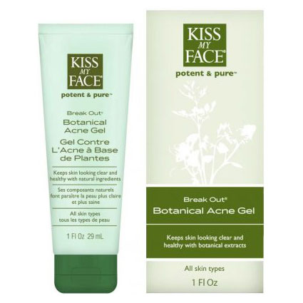 Break Out Botanical Acne Gel, 1 oz, Kiss My Face