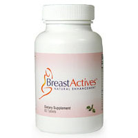 Breast Actives, Natural Breast Enhancement, 60 Tablets, Breast Gain Plus