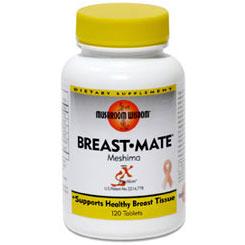 Breast-Mate, Breast Health Formula with Maitake, 120 Tablets, Mushroom Wisdom