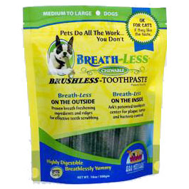 Breath-Less Brushless Toothpaste for Dogs - Medium to Large, 18 oz, Ark Naturals