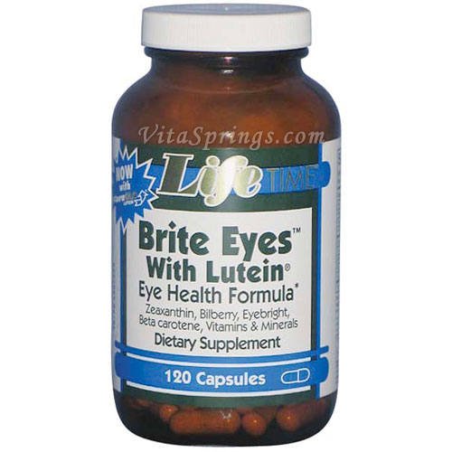 Brite Eyes with Lutein, 120 Capsules, LifeTime