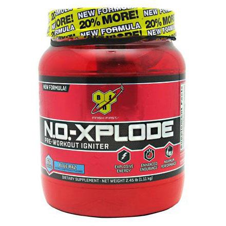 N.O. Xplode Powder, Pre-Workout Igniter, 60 Servings, BSN