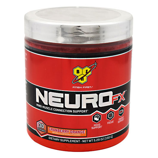 BSN NeuroFX (Neuro FX) Focus & Energy, 30 Servings