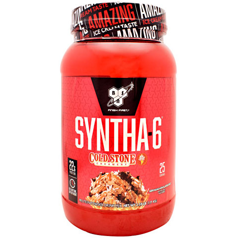 BSN Syntha-6 Cold Stone Creamery, 20 Servings (2.59 lb)