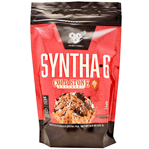 BSN Syntha-6 Cold Stone Creamery, 9 Servings (14.9 oz)