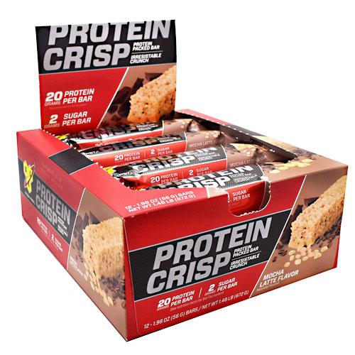 BSN Syntha-6 Protein Crisp, Protein Bar, 12 Bars