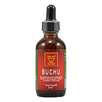 Buchu Leaves Tinc Tract in Glass Bottle, 2 oz, African Red Tea Imports