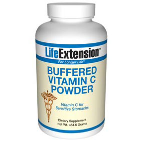 Buffered Vitamin C Powder, 454.6 g, Life Extension