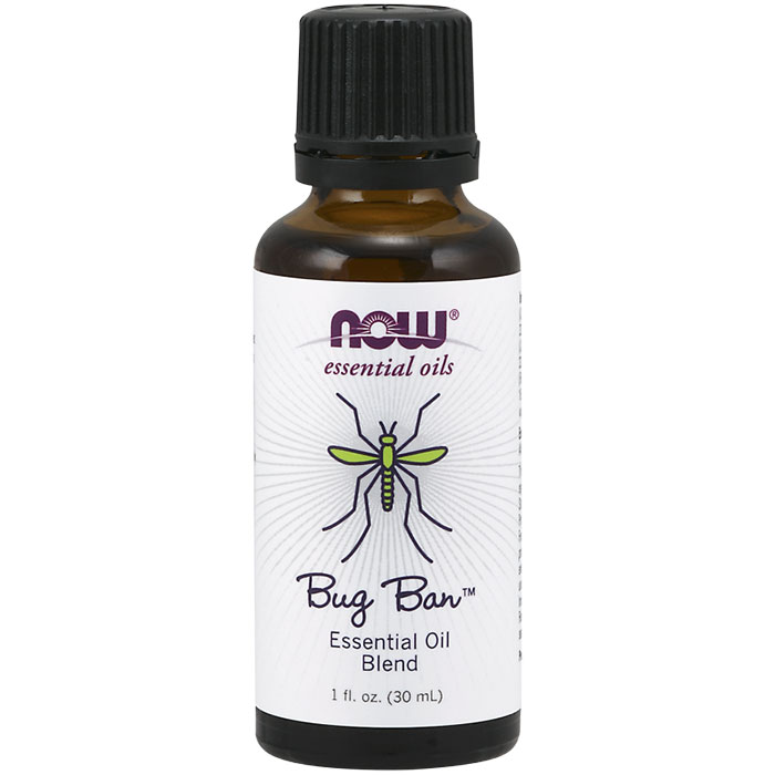 Bug Ban Essential Oil Blend, 1 oz, NOW Foods