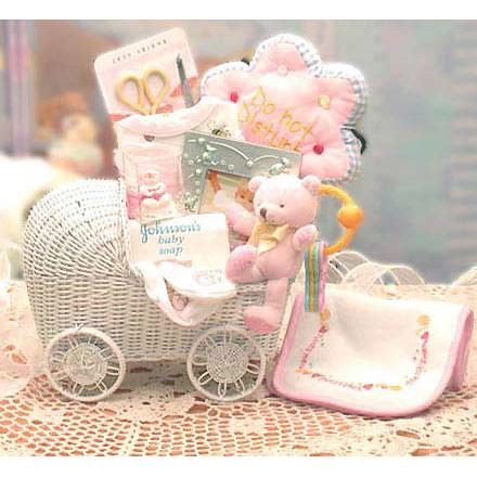 Bundle of Joy New Baby Gift Basket, Elegant Gift Baskets Online