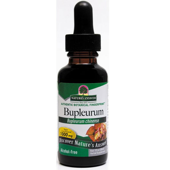 Bupleurum Alcohol Free (Bupleurum Root) Extract Liquid 1 oz from Natures Answer