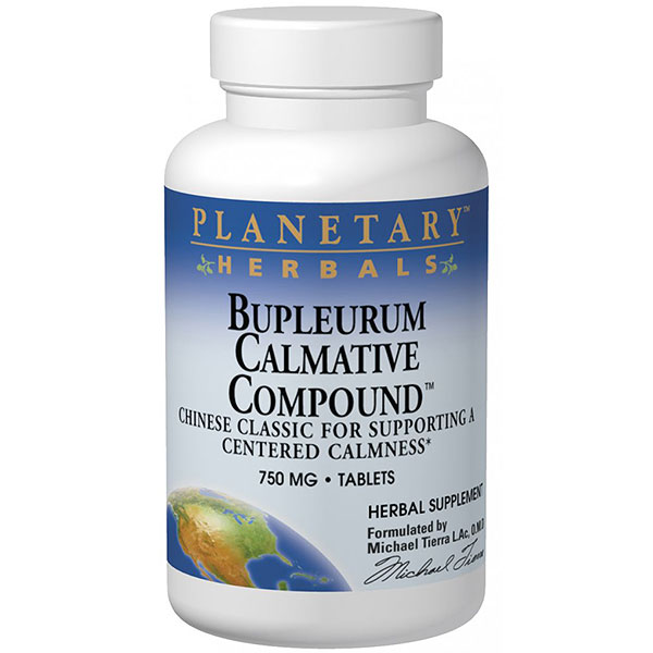 Bupleurum Calmative Compound, Chinese Herbal Calming Formula, 240 Tablets, Planetary Herbals