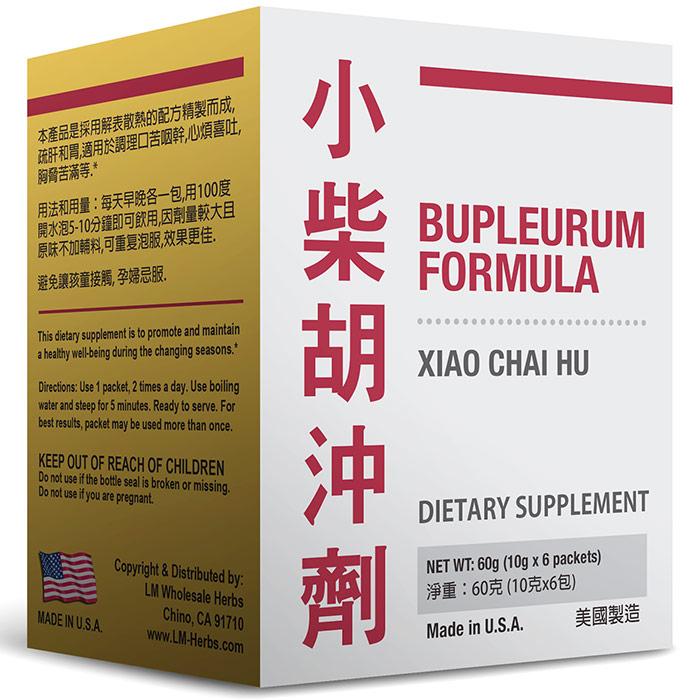 Bupleurum Formula (Xiao Chai Hu), 10 g x 6 Packets, Naturally TCM
