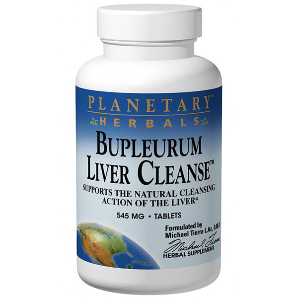 Bupleurum Liver Cleanse, With Nourishing Herbs, 300 Tablets, Planetary Herbals